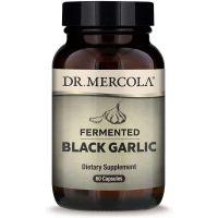 Fermented Black Garlic - Sfermentowany Czarny Czosnek (60 kaps.) Dr Mercola