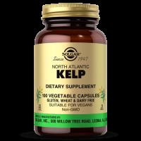Kelp (naturalny Jod) z wodorostów północnoatlantyckich (100 kaps.) Solgar
