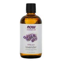 100% Olejek Lawendowy (Lavender) - Lawenda (118 ml) NOW Foods