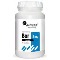 Bor /kwas borowy/ 3 mg (100 tabl.) Aliness