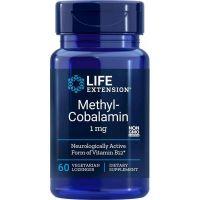 Methyl-Cobalamin - Witamina B12 /metylokobalamina/ do ssania 1 mg (60 tabl.) Life Extension