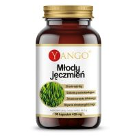 Młody Jęczmień 400 mg - ekstrakt 10:1 (90kaps.) Yango