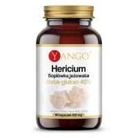 Grzyb Hericium - ekstrakt 40% polisacharydów (90 kaps.) Yango
