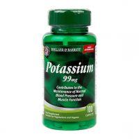 Potassium - Potas /glukonian potasu/ 99 mg (100 tabl.) Holland & Barrett