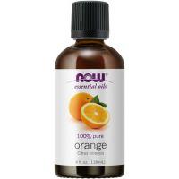 100% Olejek Pomarańczowy (Orange) - Pomarańcza (118 ml) NOW Foods