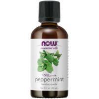 100% Olejek z mięty pieprzowej - Peppermint - Mięta pieprzowa (59 ml) Now Foods