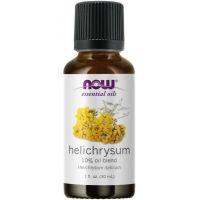 Olejek Eteryczny Helichrysum 10% - Olejek Jojoba + Olejek z Kocanki (30 ml) NOW Foods