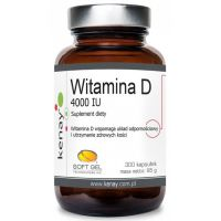 Witamina D3 4000 IU /cholekalcyferol/ 100 mcg (300 kaps.) Kenay