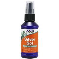 Silver Sol - Srebro Koloidalne 10 ppm (118 ml) NOW Foods