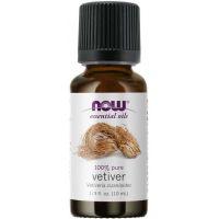 100% Olejek z Wetywerii (Vetiver) (10 ml) NOW Foods