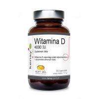 Witamina D3 4000 IU /cholekalcyferol/ 100 mcg (60 kaps.) Kenay