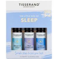 The Little Box of Sleep - Zestaw olejków eterycznych na dobry sen (3 x 10 ml) Tisserand