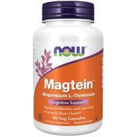 Magtein - L-Treonian Magnezu (90 kaps.) NOW Foods