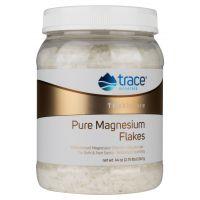 Pure Magnesium Flakes - Płatki Magnezowe do kąpieli (1247 g) Trace Minerals