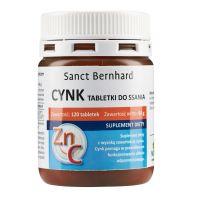 Cynk + Witamina C do ssania (120 tabl.) Krauterhaus Sanct Bernhard
