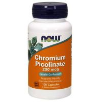 Chromium Picolinate - Pikolinian Chromu (100 kaps.) Now Foods