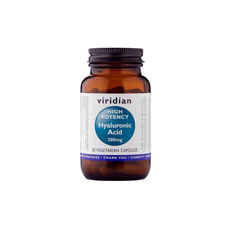 Kwas Hialuronowy 200 mg (30 kaps.) Viridian
