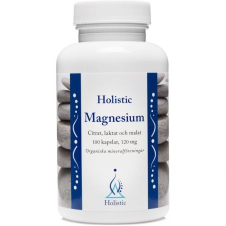 Magnesium - Magnez 120 mg (100 kaps.) Holistic