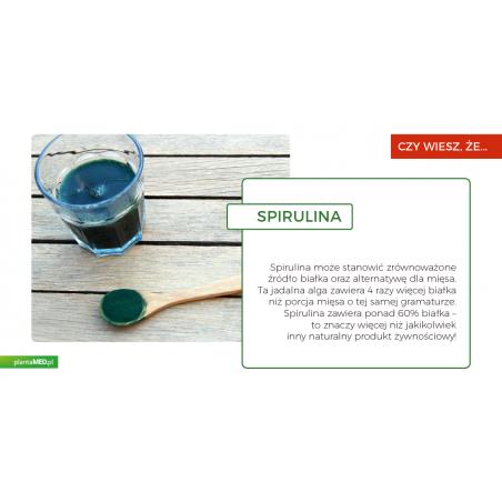Spirulina Hawajska Pacifica - miętowa 1000 mg (180 tabl.) Cyanotech