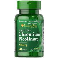 Chromium Picolinate - Pikolinian Chromu 200 mcg (100 kaps.) Puritan's Pride