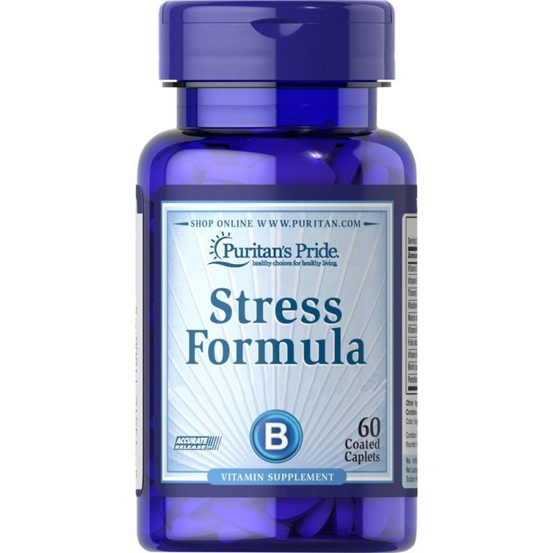 Formuła na Stres - Stress Formula (60 tabl.) Puritan's Pride