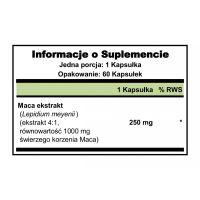 Maca ekstrakt 250 mg (60 kaps.) Puritan's Pride