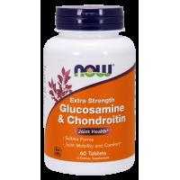 Glukozamina Chondroityna i Mikroelementy (60 kaps.) NOW Foods