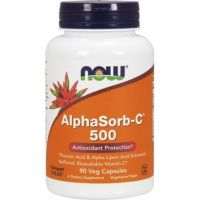 AlphaSorb-C 500 mg (90 kaps.) Now Foods