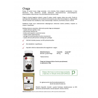 Karta produktu: Grzyb Chaga - ekstrakt 40% polisacharydów (100 g) Yango