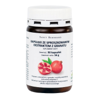 Granat i Kwas Elagowy - ekstrakt z Granatu 500 mg (90 kaps.) Sanct Bernhard