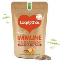 Immune - Odporność z Witaminą C, Cynkiem i Selenem (30 kaps.) Together - drugie zdjecie produktu