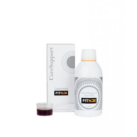 Liposomalny Fitnox - Moringa, Granat i Czarny Imbir (250 ml) CureSupport