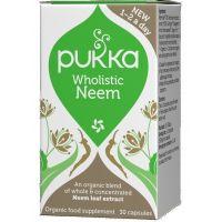 BIO Wholistic Neem - ekstrakt z liści Miodli Indyjskiej (30 kaps.) Pukka