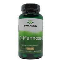 UT-PRO D-mannoza 700 mg (60 kaps.) Swanson
