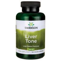 Liver Tone (Oczyszczanie Wątroby) - Liver Detox Formula 7 ziół (120 kaps.) Swanson