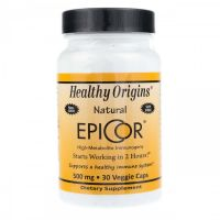 EpiCor - Saccharomyces cerevisiae 500 mg (30 kaps.) Healthy Origins