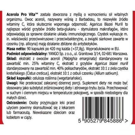 Acerola Pro Vita (90 kaps.) Yango