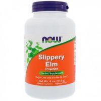 Slippery Elm - Wiąz Czerwony proszek (113 g) Now Foods