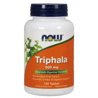 Triphala 500 mg (120 tabl.) NOW Foods