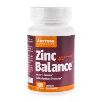Zinc Balance L-OptiZinc - Cynk 15 mg + Miedź 1 mg (100 kaps.) Jarrow Formulas