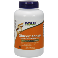 Glucomannan (Glukomannan) 575 mg - Konjac Root (180 kaps.) NOW Foods