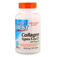 Peptan Kolagen typu I i III 1000 mg (180 kaps.) Doctor's Best