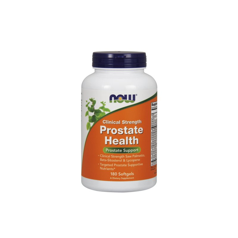 Clinical Prostate Health - Kompleks na Prostatę (180 kaps.) NOW Foods