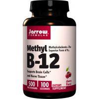 Methyl B12 - Metylokobalamina 500 mcg (100 tabl.) Jarrow Formulas