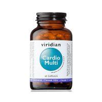 Cardio Multi - Witaminy, Minerały, Granat i Czosnek (60 kaps.) Viridian