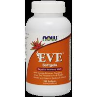 EVE Superior Womens Multi - Multiwitamina i Składniki Mineralne dla Kobiet EVE (180 kaps.) NOW Foods