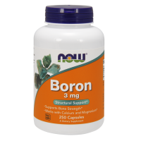 Boron - Bor 3 mg (250 kaps.) NOW Foods