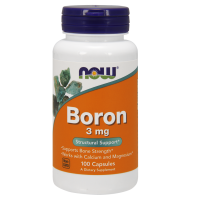 Boron - Bor 3 mg (100 kaps.) NOW Foods