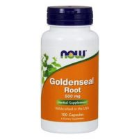 Goldenseal Root - Gorzknik Kanadyjski 500 mg (100 kaps.) NOW Foods