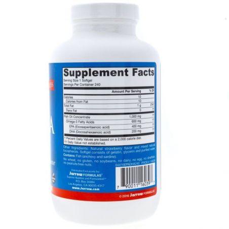 Omega 3 EPA - DHA 2:1 Balance (240 kaps.) Jarrow Formulas